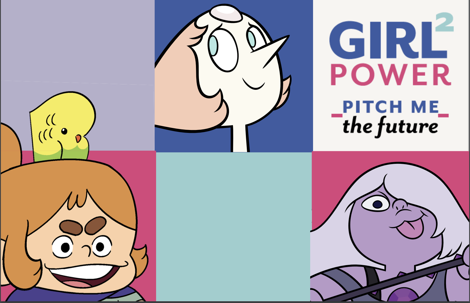 GirlPower2PitchMeTheFuture, CartoonNetwork, Pixelatl, GirlPower 2, Pitch Me The Future, Girl Power Pitch Me The Future, Girl Power