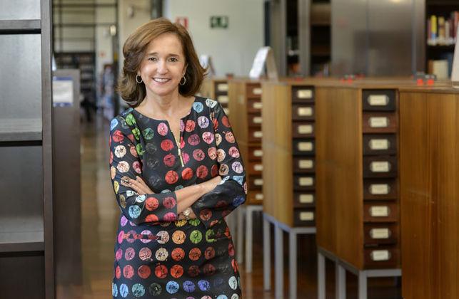 Ana Santos, directora de la Biblioteca Nacional. Biblioteca Nacional de España, España, videojuegos, biblioteca,