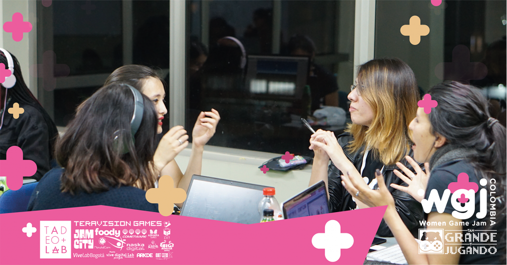 Women Game Jam Colombia, , Tan Grande y Jugando