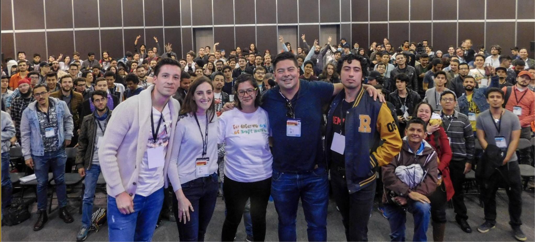 Colombia 4.0, fedesoft, videojuegos, tan grande y jugando, Sandra Castro, David Vega, Rockstar, Mariana Botero, Criterion Games, Electronic Arts, Jairo Sanchez, Blizzard Entertainment, y Daniel Cabrera, Rocket Ride Games,