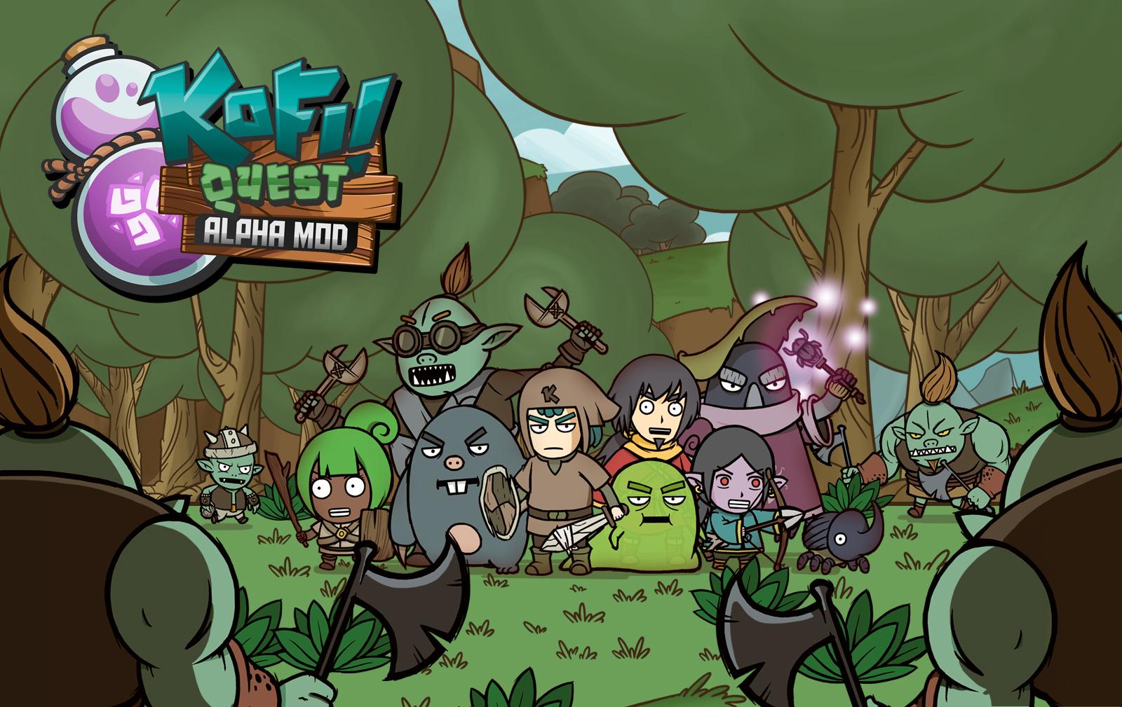 Loftur Studio, Kofi Quest: Alpha Mod, Kofi Quest, Kofi Quest, Kofi, tan grande y jugandpo, juegpos de españa, juego en español, indie game, juego indie, Tan grande y jugando, tgyj, kawa, kawa nutriales,